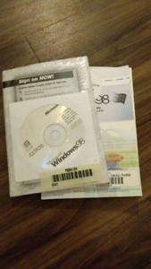 Windows 98 books with install and key