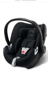 Cybex car seat and Isofix base.