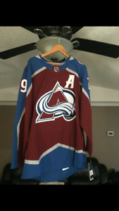 Nathan Mackinnon Signed NHL Adidas Jersey with C.O.A