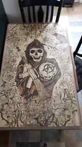 Son of anarchy art table Gatineau Ottawa / Gatineau Area image 2