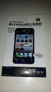 Protecteur de vitre  iphone 4
