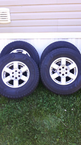 OEM nissan frontier rims and tires