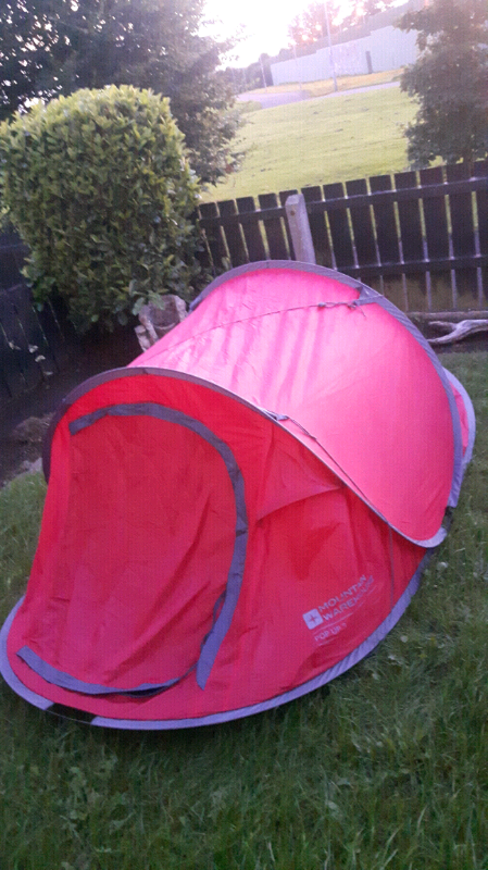 separation shoes 6629e 49ab8 Mountain Warehouse pop-up 3 tent for sale | in Antrim, County Antrim |  Gumtree