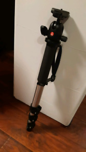 Manfrotto monopod with ball head