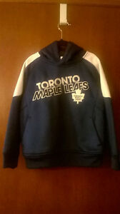 Boys XS Size 5 Toronto Maple Leafs Hoodie, NEW Windsor Region Ontario image 4