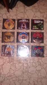 Bunch of very Old PC/PS1 games