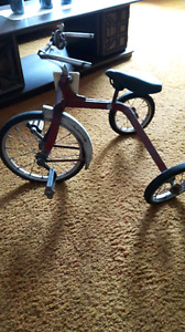 Antique trycicle for sale.