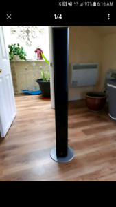Slim Yamaha slim tower speakers