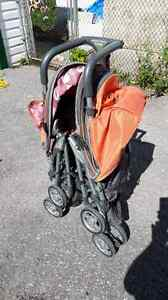 Collapsible Twin Stroller Peterborough Peterborough Area image 1