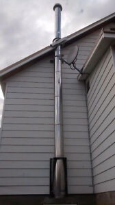"8"" Insulated Chimney / Stove Pipe"