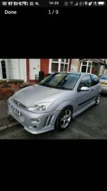 Ford focus swap 7 seater welcome