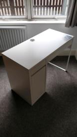 IKEA MICKE - White desk 105x50