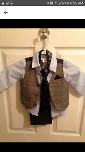 Toddler boy dress suits