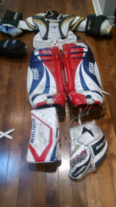 2 sets Goalie equipment 1 just pads only $100