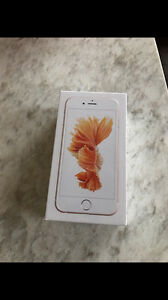 Brand New iPhone 6S 16GB Rose Gold- Rogers + a free case
