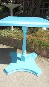 Beautiful Blue Occasional Table