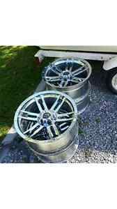 Chrome Nascar rims