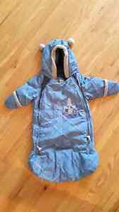 Carseat or stroller winter suit. 0-12 months