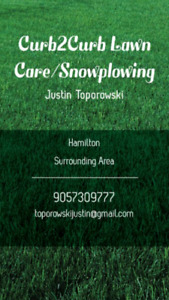 Curb2Curb Lawncare and Snowplowing