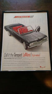 Man Cave, Rec Room Art Original Automobile Ads Car Advertising