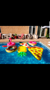 Bigmouth Inc pool floats