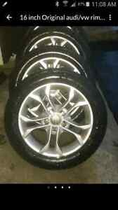 16 inch Original audi/vw rims 5×112 bolt pattern