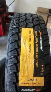BRAND NEW LT245/75R16 WINTER TIRES, OTHER SIZES TOO