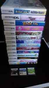 some DS/3DS games