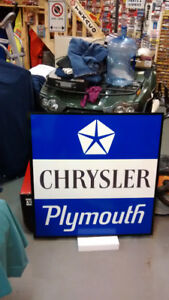 LARGE VINTAGE STYLE CHEVY FORD AND DODGE SERVICE SIGNS