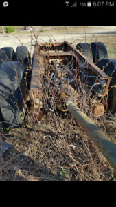 Two 40 ton axles for sale.
