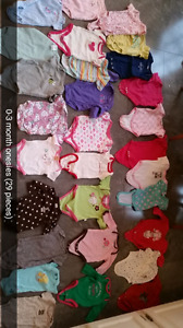 Baby girl clothes size 0-3, 3-6 and 6 months