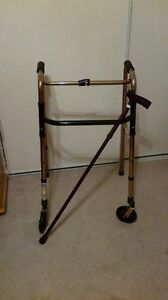 REDUCED AMG Bronze  Aluminum Folding Walker
