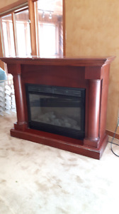 Fireplace electric.