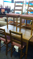 Ikea Dining Table and 4 Chairs at the Meetinghouse!