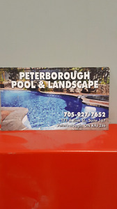 Peterborough pool and landscape