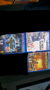 Ps vita 4 jeux/games échange/exchange vente/sale psvita