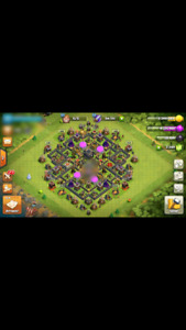 Town Hall 9 Clash of Clans Account WITH NAME CHANGE