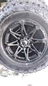 "4  NEW  17"" 5x5.5 WHEELS & TIRES  FOR DODGE RAM 1500"