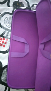 Brand new neoprene purple 17 inch laptop bag