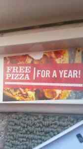 Free Pizza for a Year- 250 OBO
