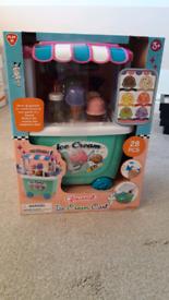 Playgo Gourmet Ice cream Cart (New, unopened & boxed)