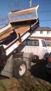 Ford Deisel Dump Truck