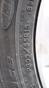 """LOOKING FOR 4 - 16"""" WINTER RIMS FOR HONDA CIVIC"""