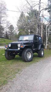 Deux jeep tj 98 $5000