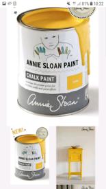 """*BRAND NEW* 1 Litre Tin of """"Tilton"""" Annie Sloan Paint (RRP £21.95)"""