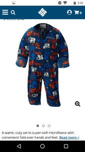 Columbia infant bunting suit - 18-24 months