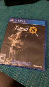 Fallout 76 New sealed for trade (or $50)