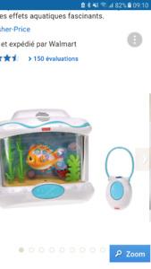 Neuf Aquarium fisher price ac manette