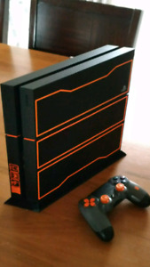 Limited edition Black ops 3 ps4
