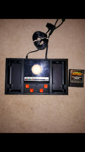 Colecovision Roller controller and Slither. Video games